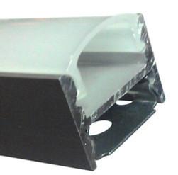 Алюминиевый профиль ПРЕМИУМ для светодиодной ленты накладной скрытый монтаж ЛПС12