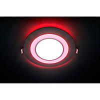 Светодиодная LED панель AL2550 16 W с красной подсветкой, фото 1