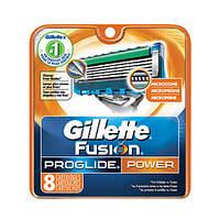 Gillette Fusion ProGlide Power сменные картриджи в упаковке  8 шт, США