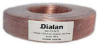 Акустический кабель Dialan Cu 2x0.75 мм ПВХ 100 м