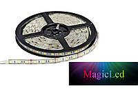 Светодиодная лента Magicled 5050 60 LED холодная 14,4W/m IP54 (в силиконе)