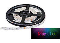 Светодиодная лента RGB Epistar 5050 30 LED/m 7,2W/m IP33, фото 1