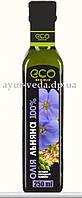 Льняное масло 250 мл. Rich Oil Eco Olio Уникальный источник здоровья, масло льна, Аюрведа Здесь