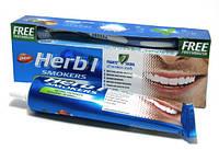 Зубная паста Dabur Herbal Smokers , 150 грм., Отбеливающая, Dabur Red, Щётка в подарок! Аюрведа Здесь