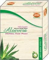 Маска для лица травяная Алоэ вера Кхади, Aloevera Herbal Face Pack Khadi, Аюрведа Здесь