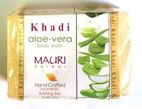 Мыло Кхади Алое вера, Khadi Natural Aloe vera Herbal Soap, Аюрведа Здесь