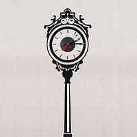 """Часы-наклейка """"Уличные часы"""" NL34 - декоративная виниловая наклейка"""