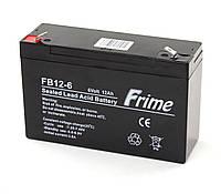 Аккумулятор Frime 6V / 12Ah для детских электромобилей и ИБП