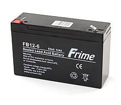 Аккумулятор Frime 6V / 12Ah для детских электромобилей