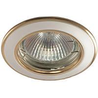 Встраиваемый светильник DL 02 титан-хром, титан-золото, фото 1