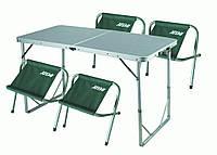 Стол и 4 стула ТА-200+FS 21124 для пикника, фото 1