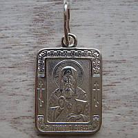 Серебряная подвеска-ладанка Митрополит Алексий