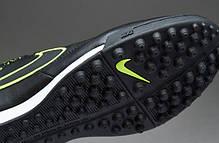 Сороконожки Nike Tiempo Genio Leather TF 631284-007 найк темпо (Оригинал), фото 3