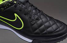 Сороконожки Nike Tiempo Genio Leather TF 631284-007 найк темпо (Оригинал), фото 2