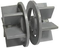 Кріплення пластик Ф60 для коннектора