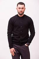 Кардиган мужской стеганый MonoCHRM черный (мужская весенняя ветровка, куртка)