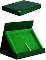 Зеленый кейс для диплома