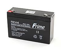 Аккумулятор Frime 6V / 14Ah для детских электромобилей и ИБП