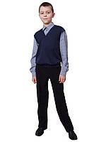 Рубашка - обманка для мальчикадетская  М-1040 рост 110-152