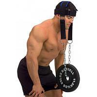 Тренажер для мышц шеи ( Тяги для шеи PowerPlay) КОЖА