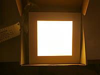 Светодиодная встраиваемая LED панель Epistar 16W квадрат, фото 1