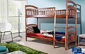 Двухъярусная кровать Кира Микс-Мебель деревянная