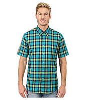Рубашка Pendleton, M, Bright Green/Turquoise/Navy Plaid, AA071-66714-R