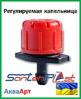 Регулируемая капельница 1/4 поток 0-70 (л/ч)