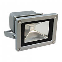 Светодиодный LED прожектор 10Вт IP65 (наружное освещение) белый теплый свет 3000K