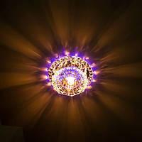 "Точечный светильник JD125 LED с подсветкой RGB ""3W + лампа"", фото 1"