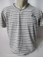 Серая спортивная футболка для мужчины