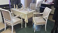 Комплект мебели, стол +2 стула, 2 кресла