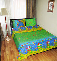 Подростковое постельное белье для девочек Русалочка, бязь (хлопок 100%)