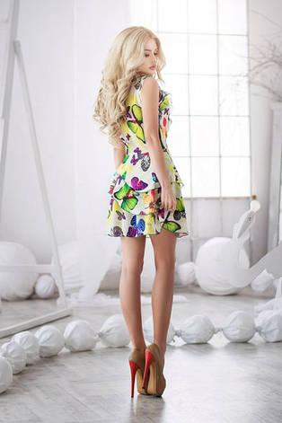 Летние платье Бабочка-рюши, фото 2
