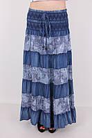 Стильная женская джинсовая юбка
