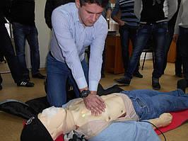 """Учебный центр """"Новатор"""" (г. Харьков) регулярно проводит обучение навыкам оказания первой медицинской помощи с использованием робота-тренажера... 2"""