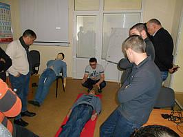 """Учебный центр """"Новатор"""" (г. Харьков) регулярно проводит обучение навыкам оказания первой медицинской помощи с использованием робота-тренажера... 3"""