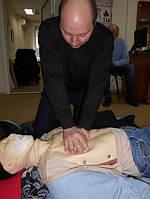 """Учебный центр """"Новатор"""" (г. Харьков) регулярно проводит обучение навыкам оказания первой медицинской помощи с использованием робота-тренажера... 4"""