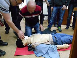 """Учебный центр """"Новатор"""" (г. Харьков) регулярно проводит обучение навыкам оказания первой медицинской помощи с использованием робота-тренажера... 6"""