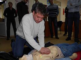 """Учебный центр """"Новатор"""" (г. Харьков) регулярно проводит обучение навыкам оказания первой медицинской помощи с использованием робота-тренажера... 7"""