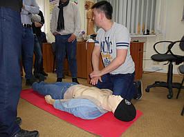 """Учебный центр """"Новатор"""" (г. Харьков) регулярно проводит обучение навыкам оказания первой медицинской помощи с использованием робота-тренажера... 10"""