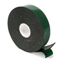 Скотч двусторонний SACA зеленый 25mm x 2M