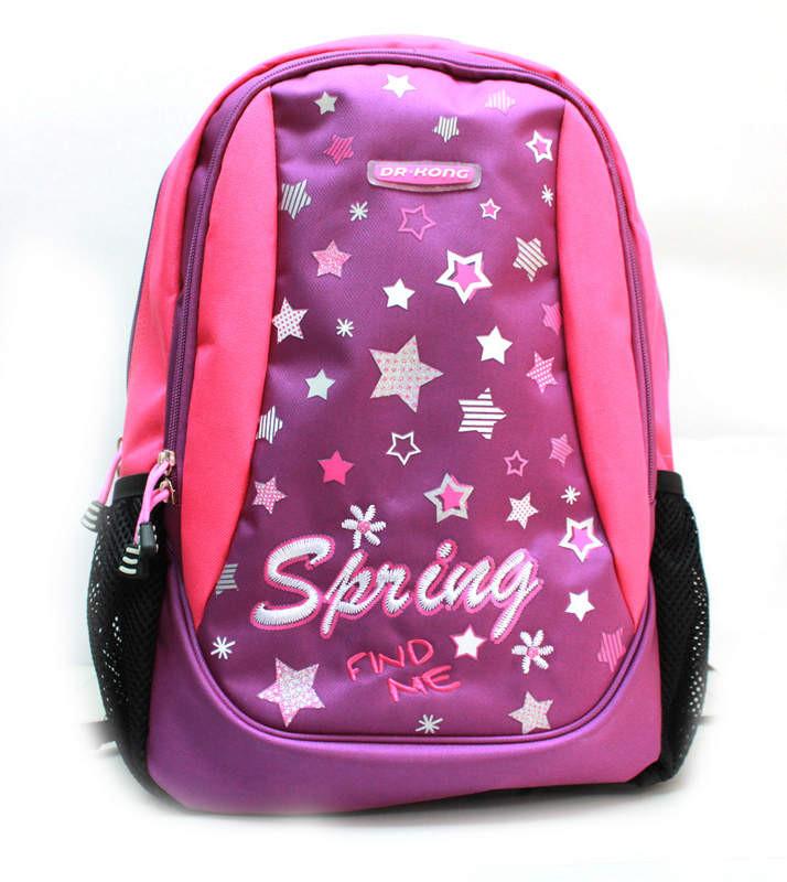 Рюкзак Dr.Kong Z 210, размерM 42*29*15, фиолетовый