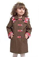 Пальто утепленное для девочки м-905 от рост 104 110 116, фото 1