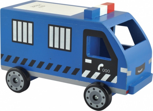 Машинка полицейская, деревянная
