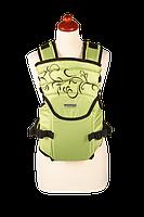 Рюкзак кенгуру переноска для детей Sunny 12 Zafiro салатовый, Womar