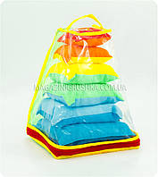 Набор подушек для кукол (Разные цвета, 6 штук)