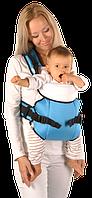 Рюкзак кенгуру переноска для детей Sunny 12 Zafiro бирюзовый, Womar