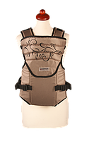 Рюкзак кенгуру переноска для детей Sunny 12 Zafiro бежевый, Womar