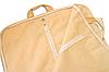 Чехол\кофр для одежды с ручками 60*130 см (бежевый), фото 3
